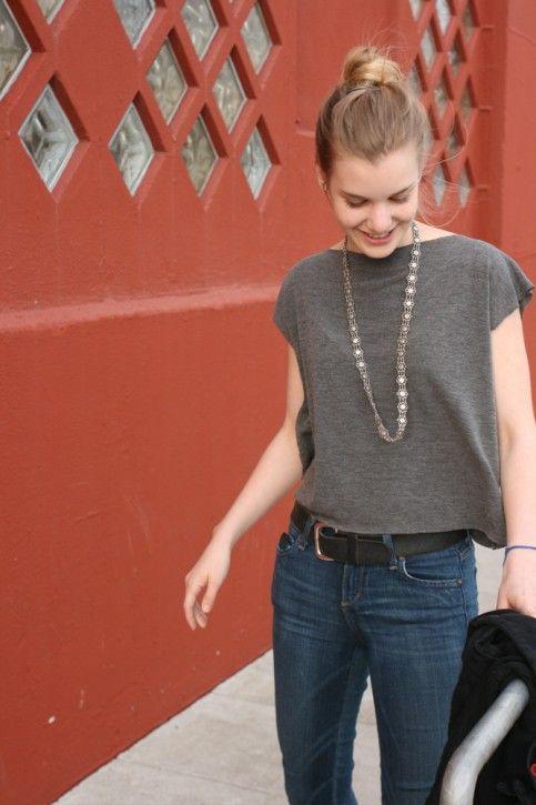 10-minute knit shirt