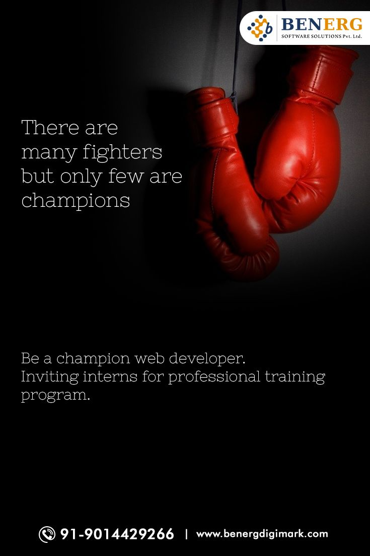 There are many #Fighters but only few are #Champions . Be a Champion #WebDeveloper #Professional #Training program  http://goo.gl/bQvG10