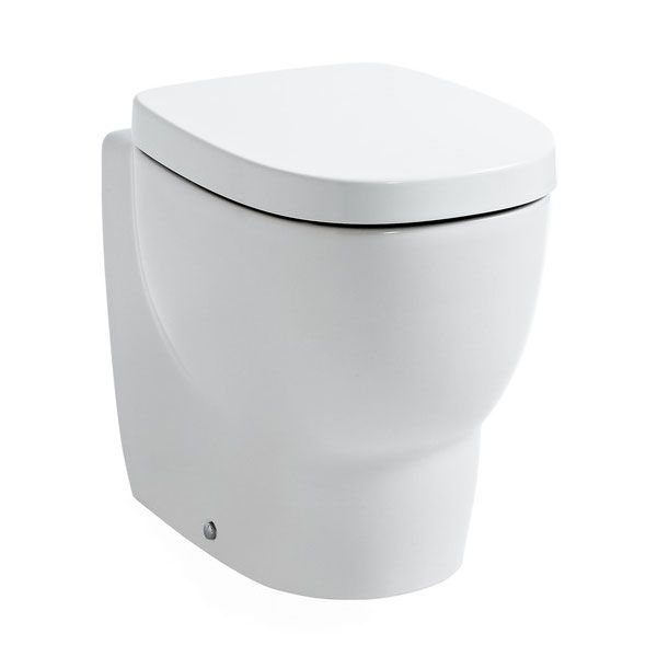 Laufen - Mimo Back to Wall Pan with quick release Toilet Seat - MIMWC3. (W)350mm x (H)430mm x (D)500mm £392