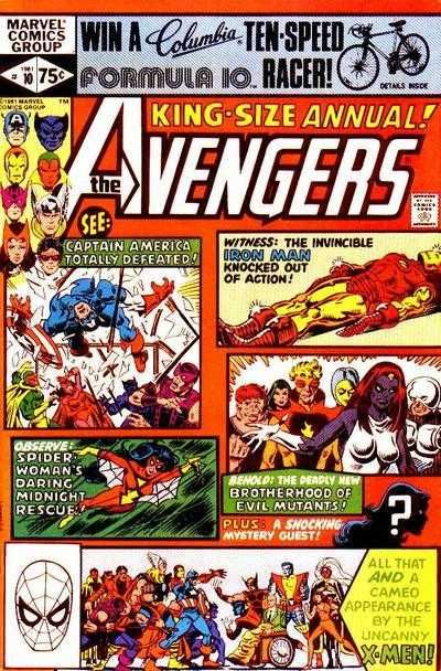 The Avengers Annual #10 - By Friends Betrayed (Issue)