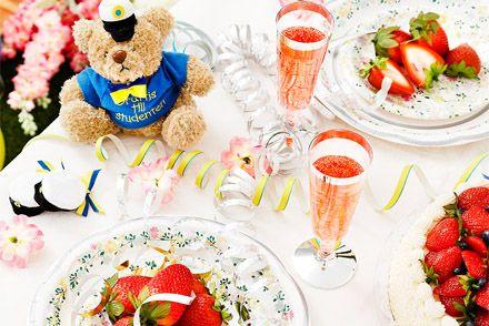 Recept för att fira studenten in Sweden Graduation day - Recipes in Swedish