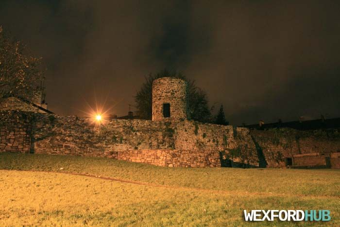 An article about the history of Wexford's town wall.