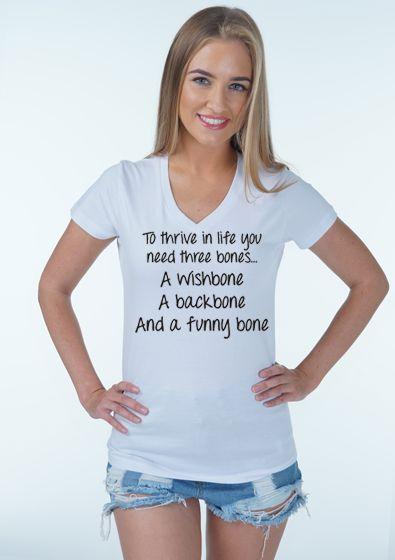 Wishbone Backbone Funny Bone
