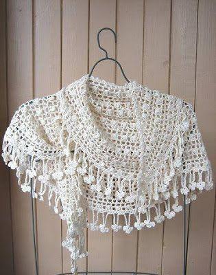 #564 Bufanda a Crochet o Crochet