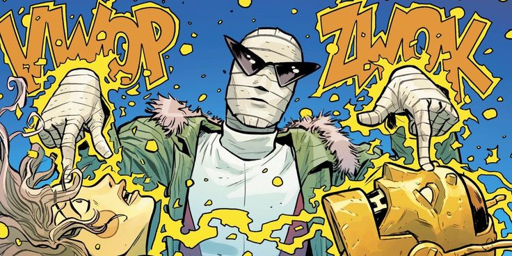 "Titans Live-Action TV Show Casts Negative Man          DC's upcoming live-action Titans TV show has cast another member of the Doom Patrol, with Dwain Murphy set to play Negative Man. DC's live-action Teen Titans TV series – expected to premiere this year on DC's streaming service – is rapidly adding to its cast, with plenty of recent coverage centered around the ever-expanding superhero team the Doom Patrol.    Attention!!! This is Just an Announce to view full post click on the ""Visit""…"
