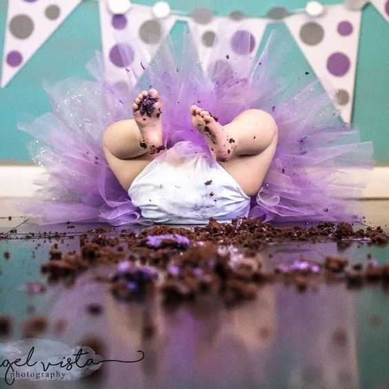 Don't overlook the aftermath - Birthday Cake Smash Ideas Worth Stealing for Your Little One - Photos