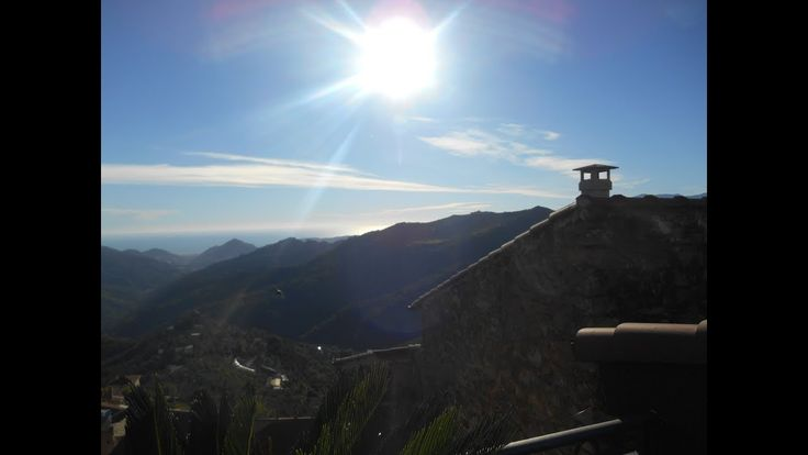 """The Guesthouse  """"Ginestra""""  in the beautifull mountain village Perinaldo..."""