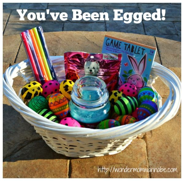 You've been egged.  A great Easter treat for friends and family.