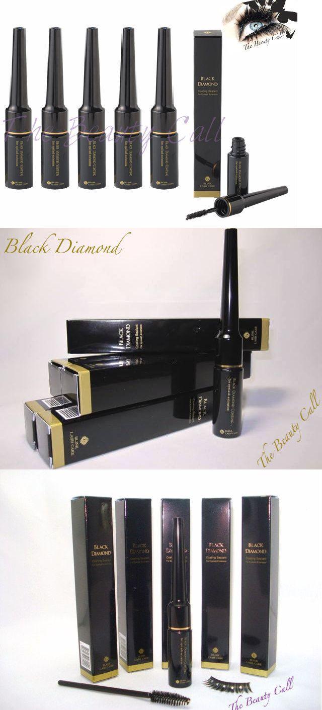 False Eyelashes and Adhesives: X5 Bink Black Diamond Longer Life Coating Sealer Eyelash Extension BUY IT NOW ONLY: $61.25