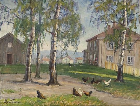Marie Tannæs (1854-1939): Fra Vøyenvollen