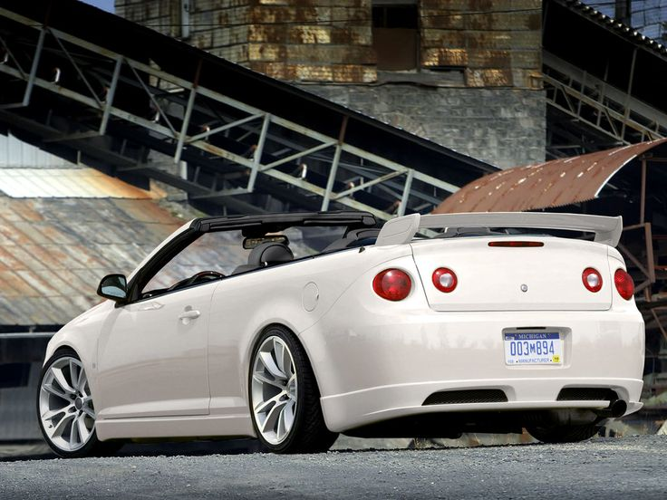 If I could do this to my car, I would. cobalt ss custom convertible