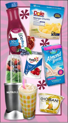 Hungry Girl's tips and tricks for the perfect smoothie. YUM! Pin and try them!