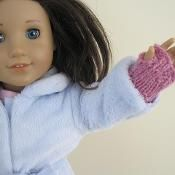 Super Easy Doll Mittens - for 18