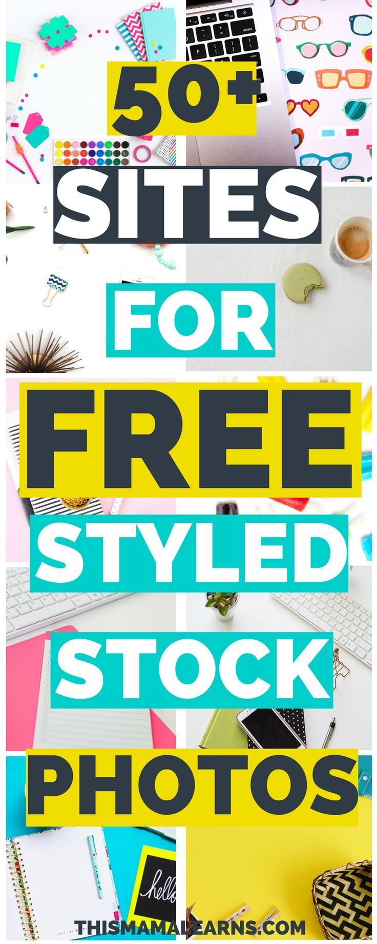 Got image envy? No more! Here's the ultimate list of feminine styled stock photo sites - psst... they're all offering images for free!
