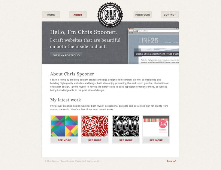 Best 25+ Portfolio web ideas on Pinterest | Sitio web portafolio ...