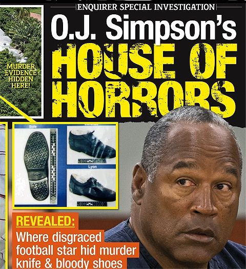 INSIDE O.J. SIMPSON HOUSE OF HORRORS - The National Enquirer