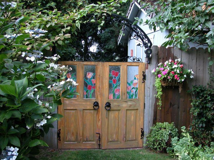Garden Gates; view from inside the garden