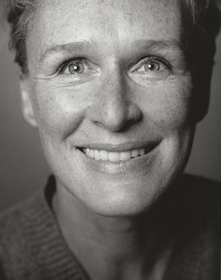 Glen Close. This is what I mean...wholesome, real beauty, not covered over by heavy makeup.