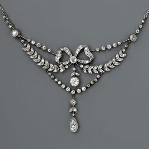 Edwardian Jewelry – Necklaces « Love the design - so delicate and pretty.  B.