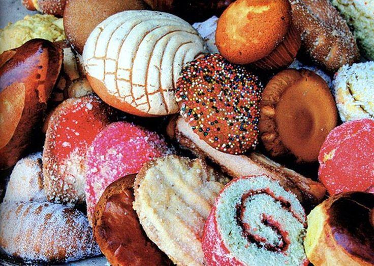 Clases de pan mexicano