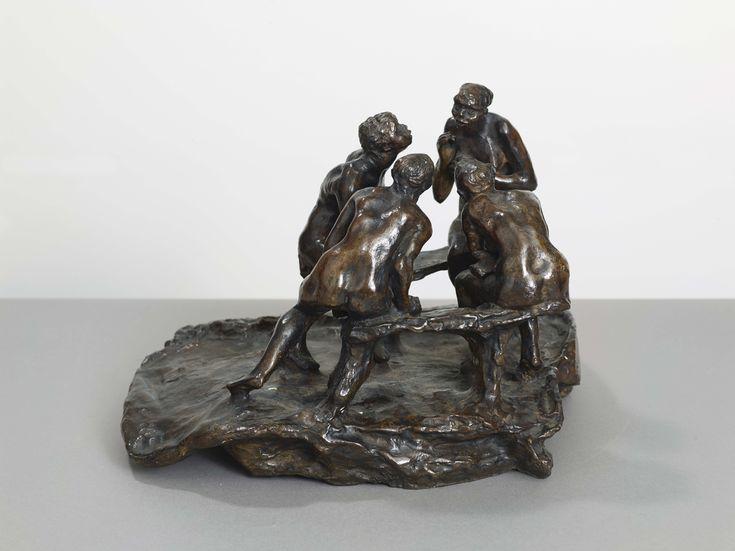 CAMILLE CLAUDEL (1864-1943) - LES CAUSEUSES OU LES BAVARDES OU LA CONFIDENCE,1893 - [...], Art Impressionniste et Moderne à Cornette de Saint Cyr Paris | Auction.fr