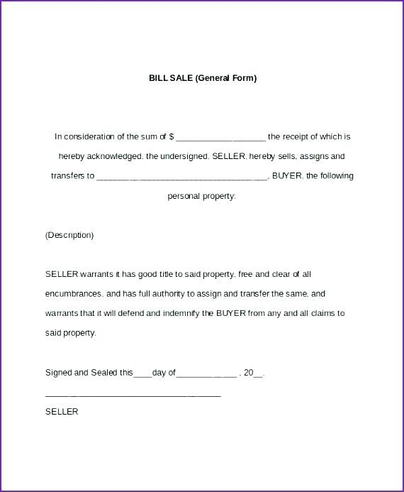 Free Bill Of Sale Form Florida Cover Resume Word Doc Bill Of Sale Template Bills
