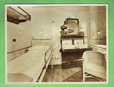 1930s photo of inside of low class cruise ship cabin for First class cruise ship cabins
