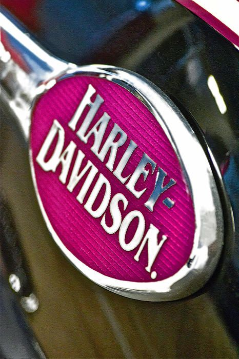 Pink Harley Emblem #HDNaughtyList @Laura Jayson Jayson Jayson Harley-Davidson