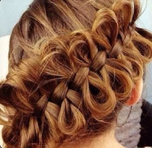 This is super cute!- but would not work with my curly hair!  Ugh!