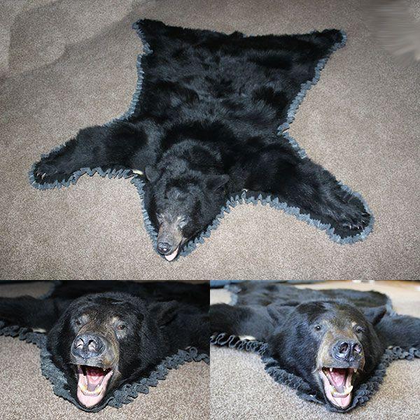 Black Bear Skin Rugs For Sale Brown Bear Rug Bills