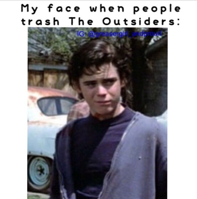 291 best the outsiders images on pinterest stay gold stay young somebody said that stay gold ponyboy stay gold was the dumbest last words anyone could say this was my face exactly fandeluxe Gallery