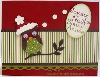 art et scrap: Et voici d'autres cartes de Noël...