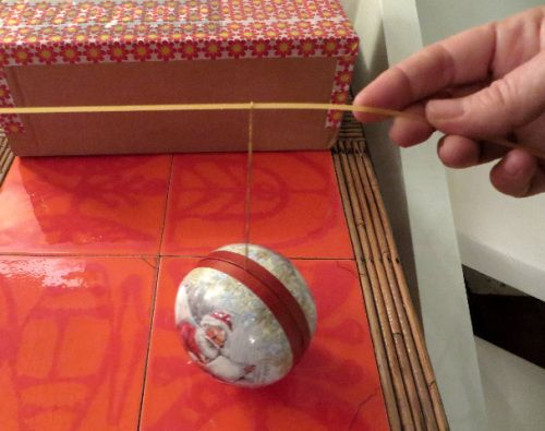 jeu boule Noël