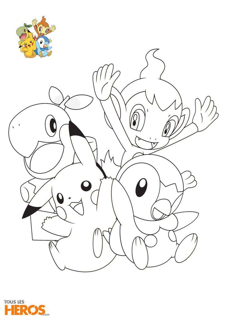 Coloriages Pokémon à découvir sur le #blog de TLH !