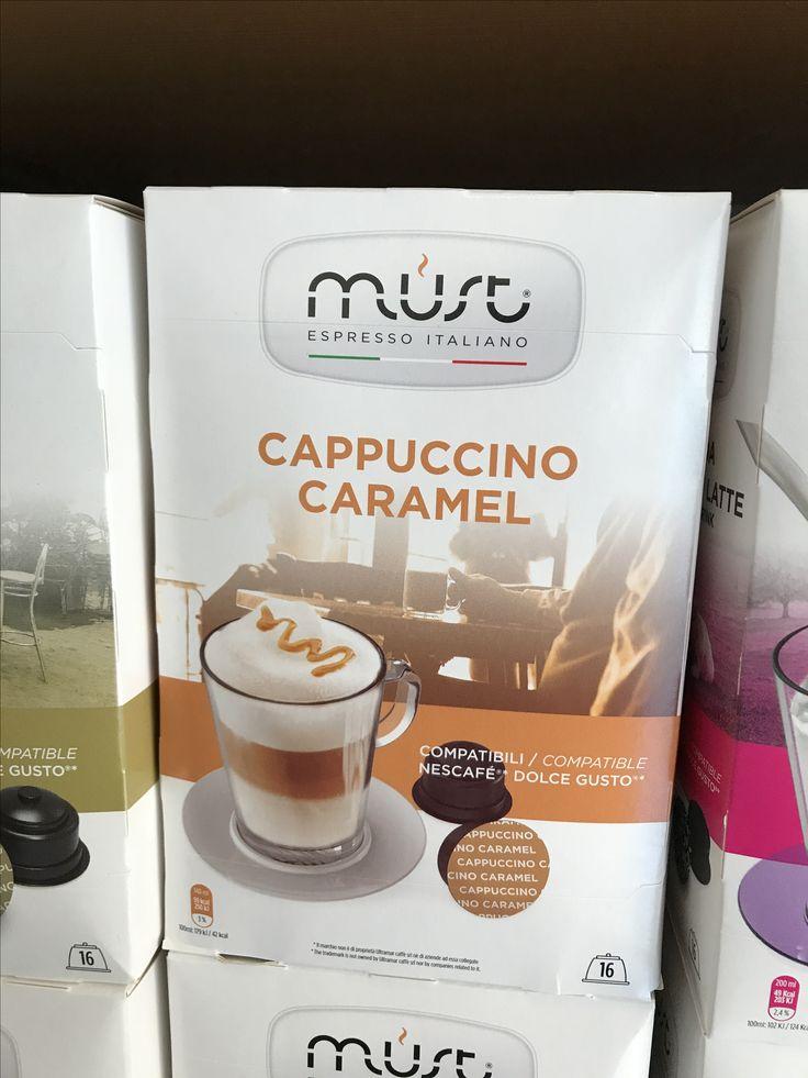 NOVITA' per Nescafè Dolce Gusto CAPPUCCINO CARAMEL  Cremoso, intenso e con un tocco di dolcezza grazie all'aggiunta del caramello.   Prenditi una piccola pausa e assapora questa golosa bevanda.  Capsule & Coffee Fano Gli specialisti del caffè Viale Veneto 87 tel 0721 823 785  www.capsuleandcoffee.com  #capsuleandcoffee #glispecialistidelcaffè #Fano #Pesaro #cappuccino #caramello #nescafè #dolcegusto #mustespresso