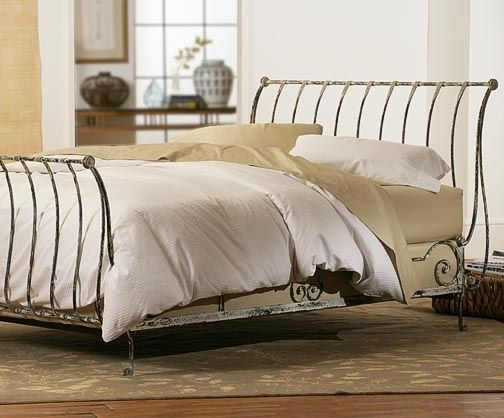 9 Best French Iron Sleigh Bed Images On Pinterest