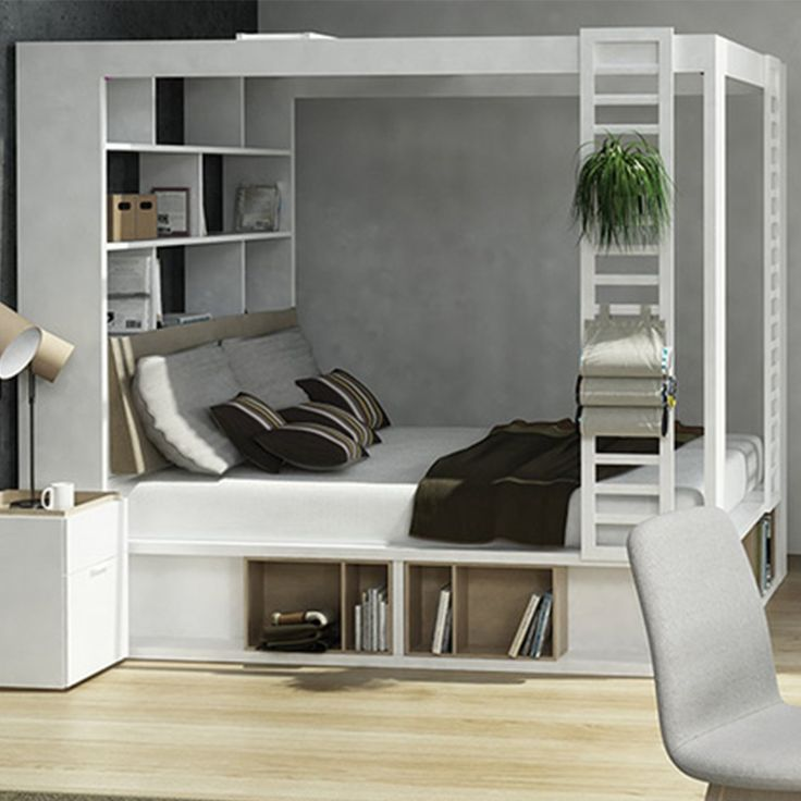 Is this the ultimate space-saving storage bed on the market? We think it just…