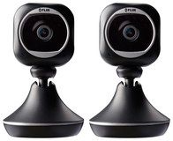 Flir - FX Wireless Surveillance Cameras (2-Pack) - Black/Silver, FXV101-H2