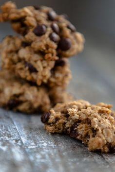 Erdnussbutter-Schokoladen-Haferflockenkekse - kuechenchaotin.de - schnell gemacht, lecker und sehr sättigend