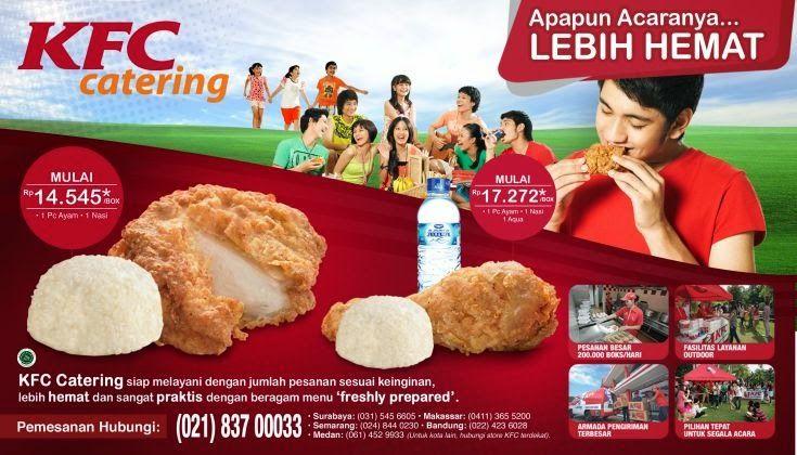 harga menu KFC Catering, menu KFC Catering, Harga Paket Menu KFC Catering 2014, menu paket kfc 2014, kfc,