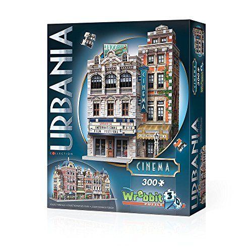 Wrebbit 3D Urbania Cinema 300 Puzzle