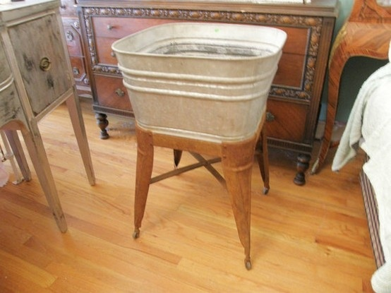 vintage wash tub sink  | Wash tub for drinks by gayle.ferguson.9