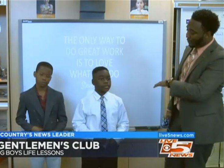 South Carolina Teacher Creates 'Gentleman's Club' to Teach Young Students How to Be Gentlemen