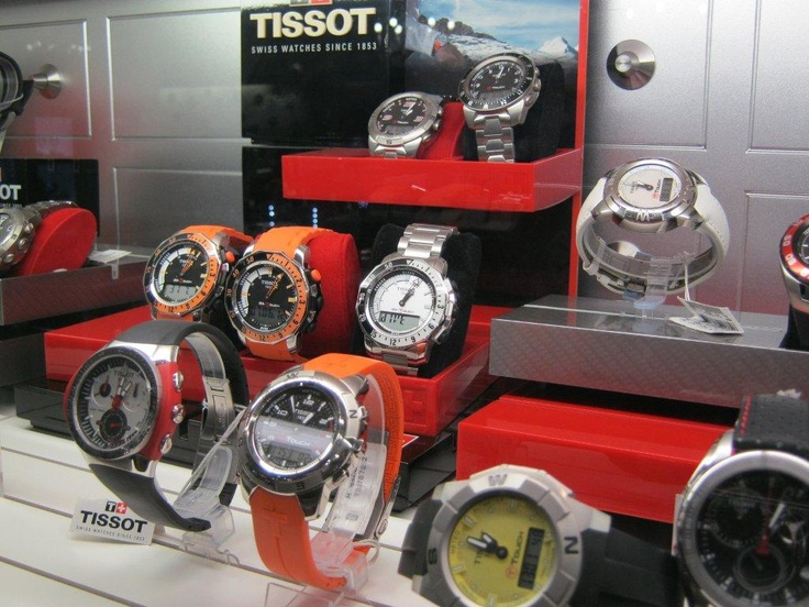 Tick Tock..Tissot on special from Roma Gioielli Jewellers - a great accessory for Dad.
