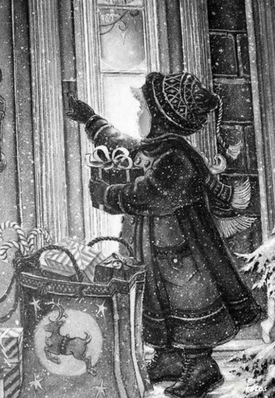 29 best Grayscale Christmas images on Pinterest | Vintage ...