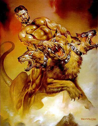 Cerberus: Mythical Creatures of Legend and Folklore, Myth Beast ...