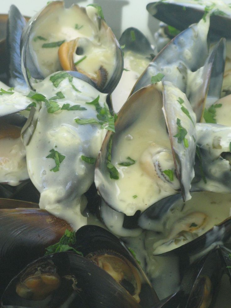 ☆...☆...☆... ........................... Moules sauce Poulette au Thermomix - Patio'nnement cuisine