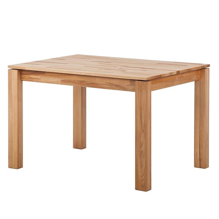 Table à manger El Paso - Duramen de hêtre massif - Huilé - 120 x 80 cm