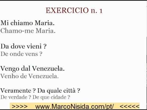 Curso de Italiano Gratis 5 para Brasileiros e Portugueses