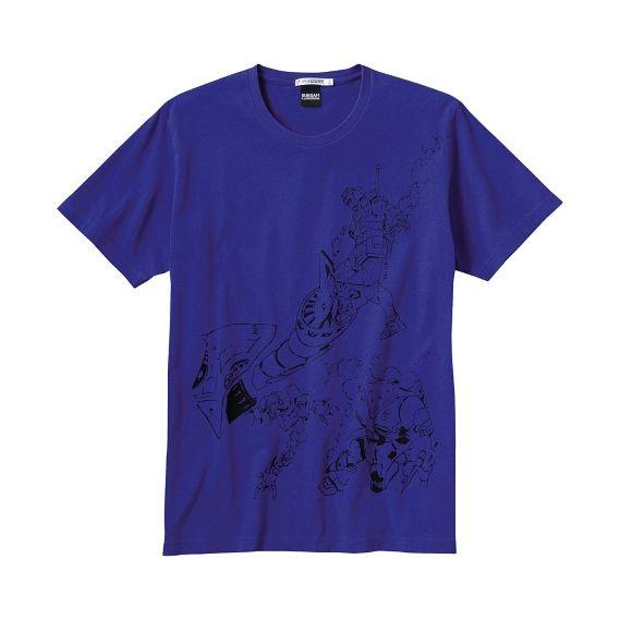MEN GUNDAM ILLUSTRATIONS Graphic Short Sleeve T Shirt H
